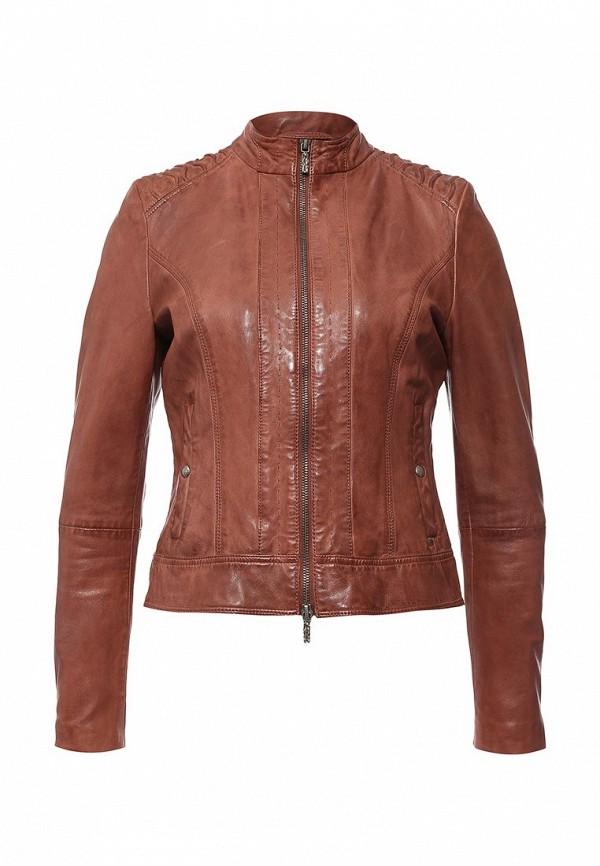 Кожаная куртка Boss Orange 50318310: изображение 1
