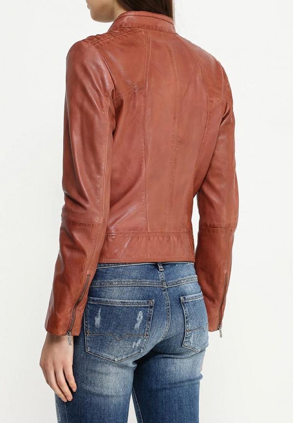 Кожаная куртка Boss Orange 50318310: изображение 4