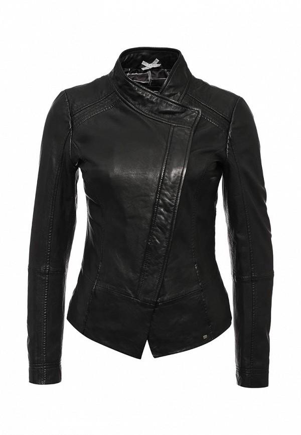 Кожаная куртка Boss Orange 50323098: изображение 1