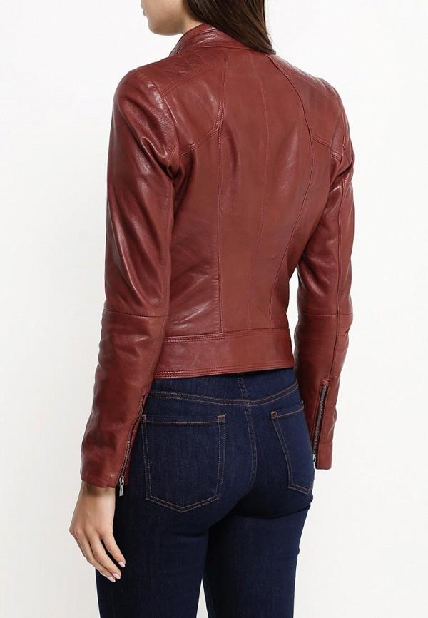 Кожаная куртка Boss Orange 50323518: изображение 4