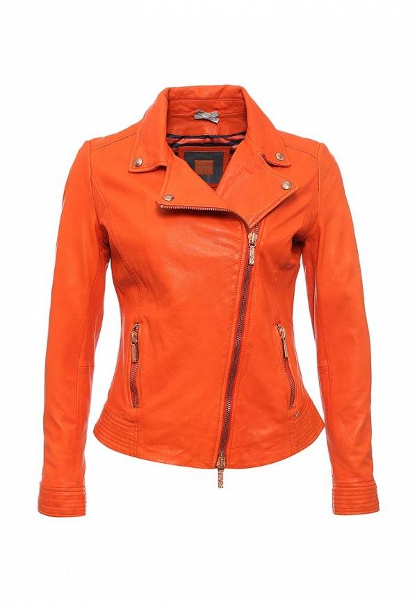 Кожаная куртка Boss Orange 50328006