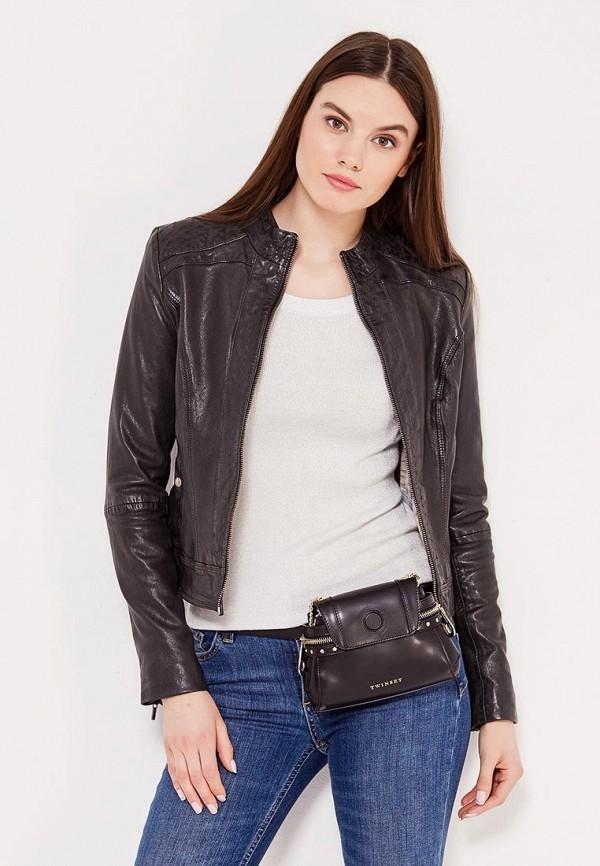 Куртка кожаная Boss Orange 50332880