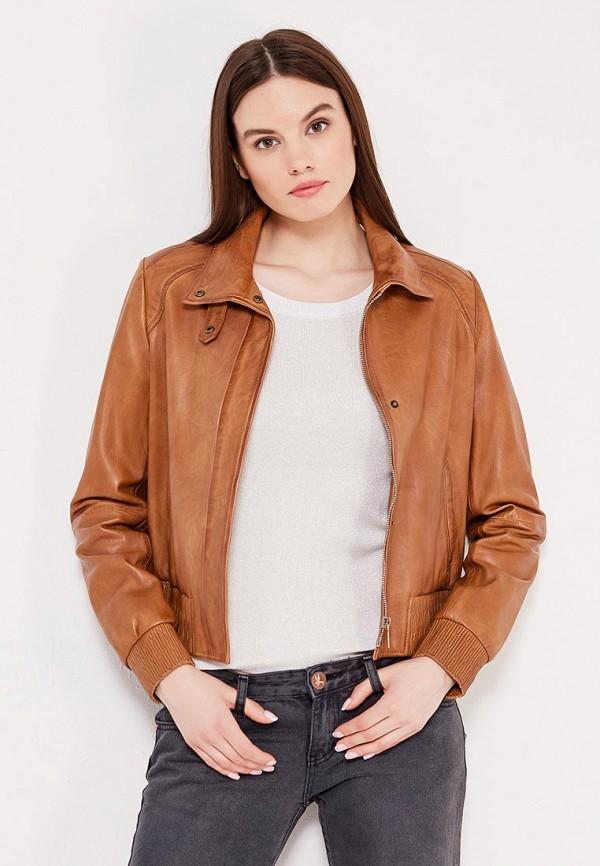 Куртка кожаная Boss Orange Boss Orange BO456EWSRW99 цена 2016