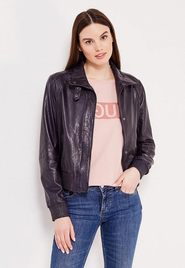Куртка кожаная Boss Orange 50370846