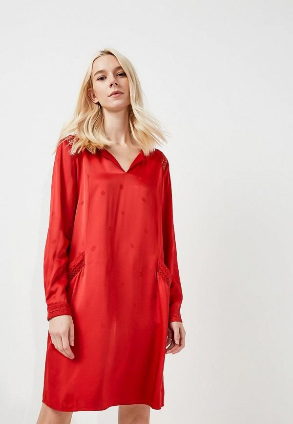 Купить Платье Boss Hugo Boss, BO456EWYUU98, красный, Весна-лето 2018