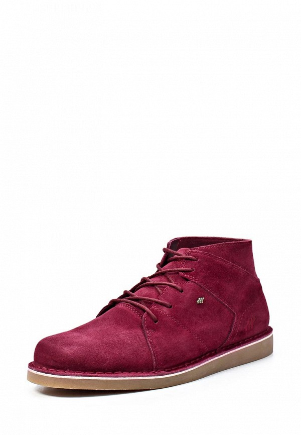 Ботинки Boxfresh BO543AMKW903. Цвет: бордовый