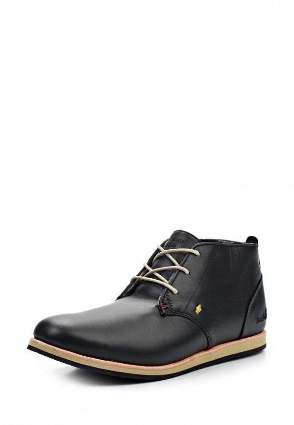 Ботинки Boxfresh DALSTON. Цвет: черный