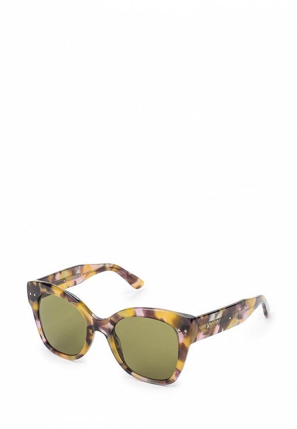 Очки солнцезащитные Bottega Veneta Bottega Veneta BO982DWQYL65 bottega veneta юбка длиной 3 4