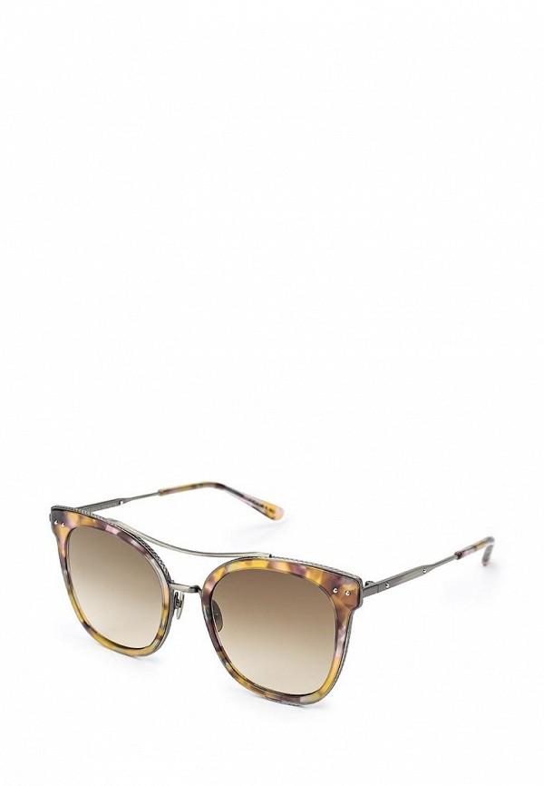 цена Очки солнцезащитные Bottega Veneta Bottega Veneta BO982DWQYL67 онлайн в 2017 году