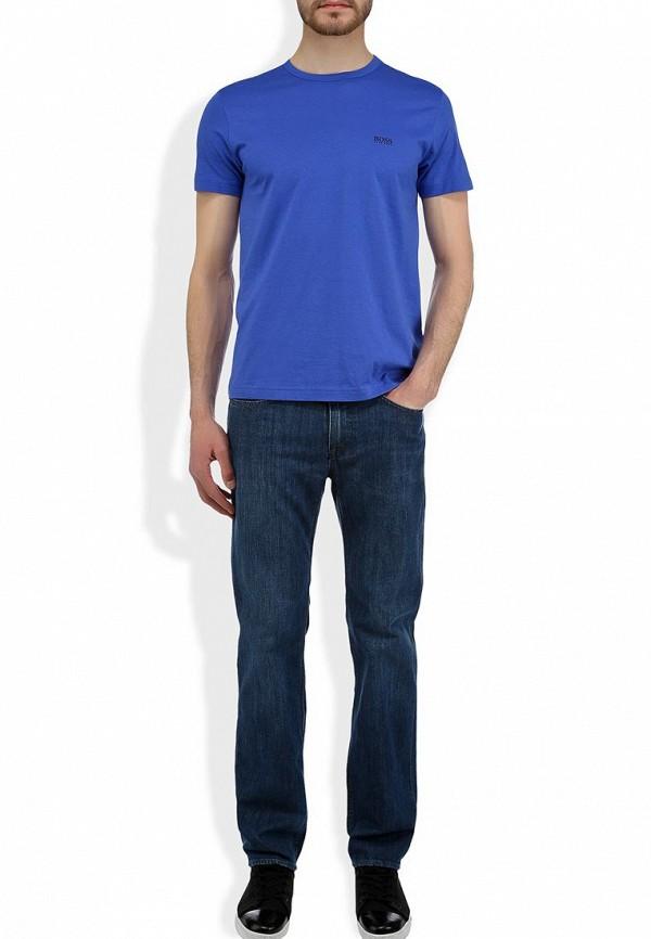 Мужские прямые джинсы Boss Green 50260814: изображение 7