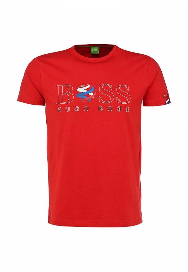 Футболка с надписями Boss Green 50260471: изображение 1