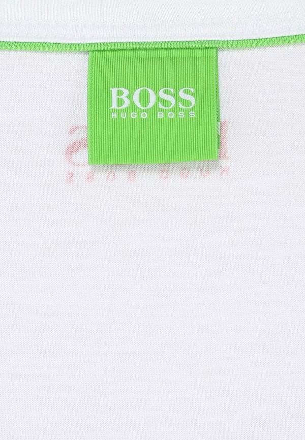 Футболка с надписями Boss Green 50259683: изображение 4