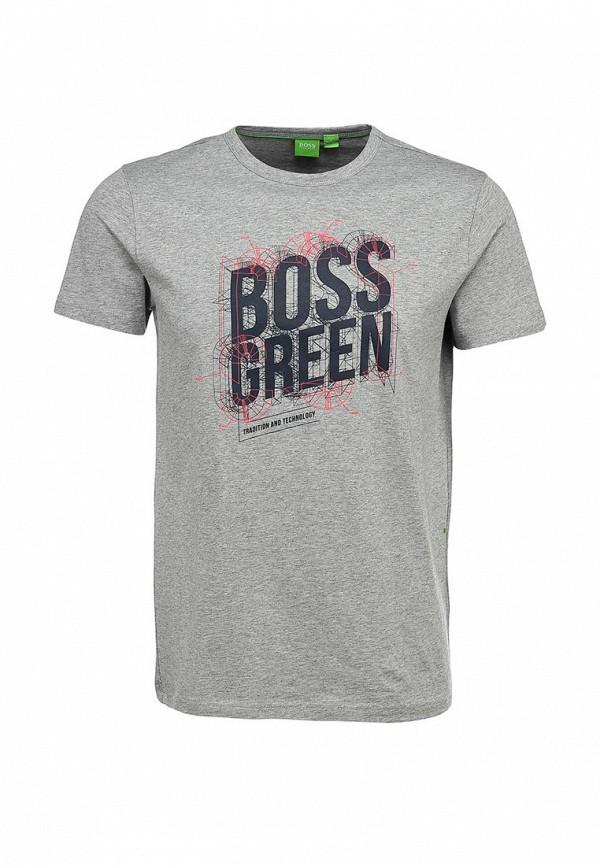 Футболка с надписями Boss Green 50259690: изображение 1