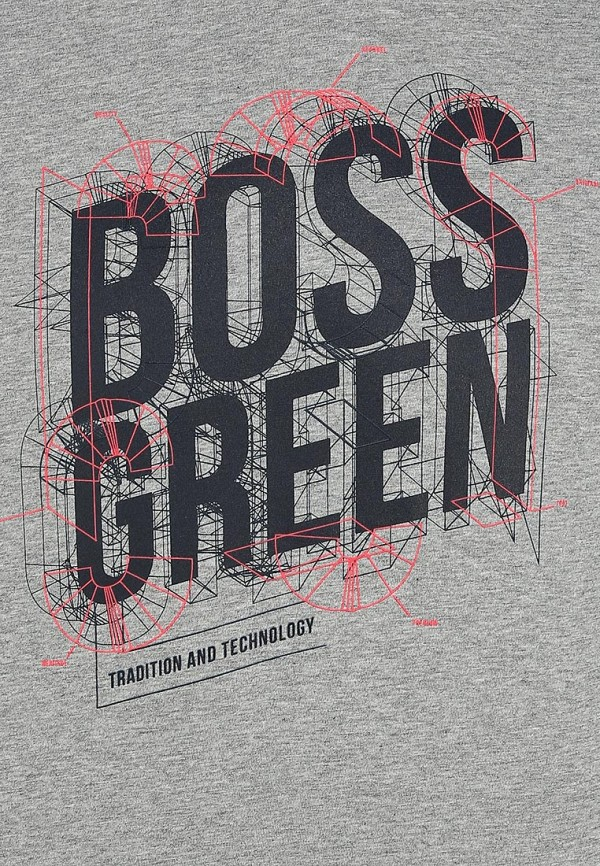 Футболка с надписями Boss Green 50259690: изображение 12