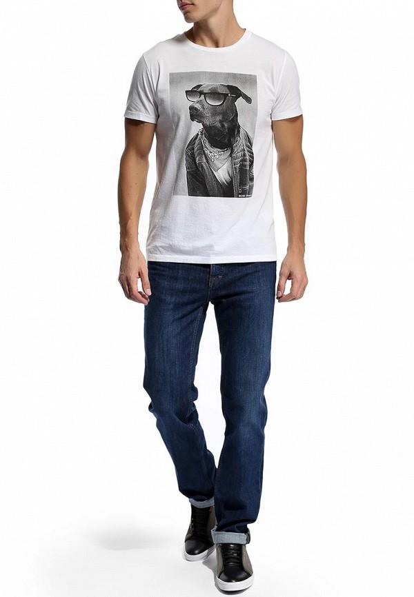 Мужские прямые джинсы Boss Green 50270730: изображение 5