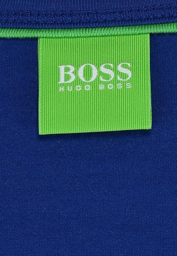 Футболка с надписями Boss Green 50236203: изображение 9