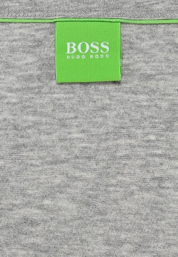 Футболка с надписями Boss Green 50271054: изображение 3