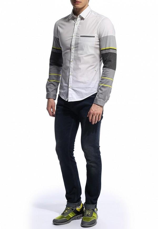 Рубашка с длинным рукавом Boss Green 50276555: изображение 6
