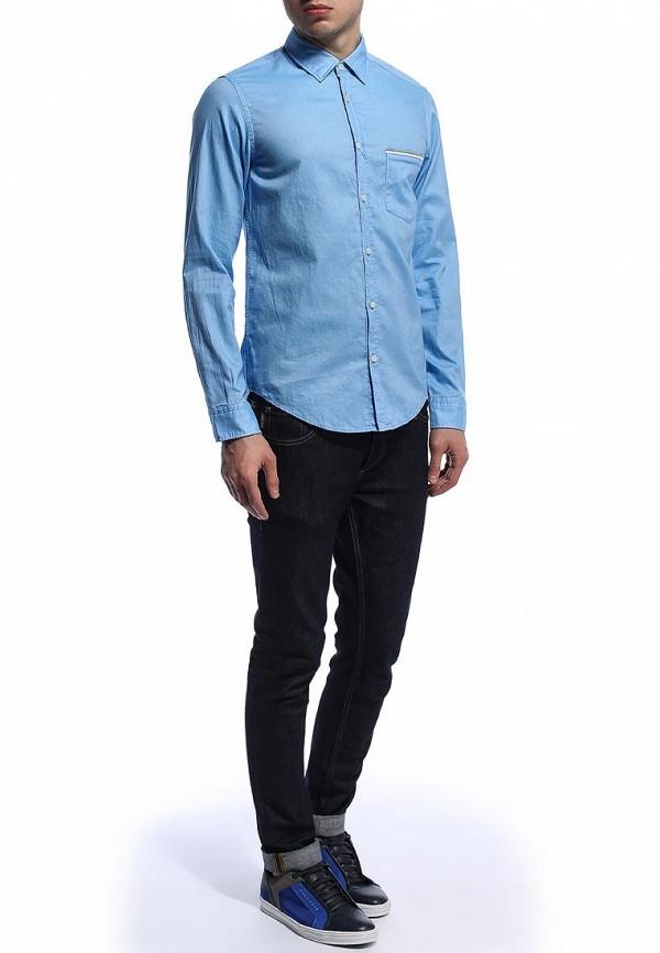 Рубашка с длинным рукавом Boss Green 50276551: изображение 3