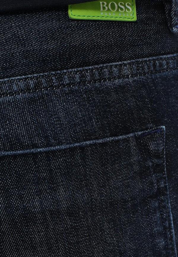 Мужские прямые джинсы Boss Green 50276407: изображение 5