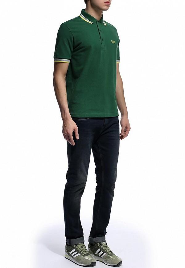 Мужские поло Boss Green 50198254: изображение 10
