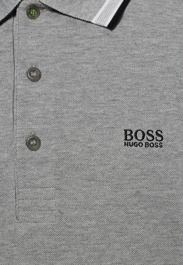 Мужские поло Boss Green 50198254: изображение 5