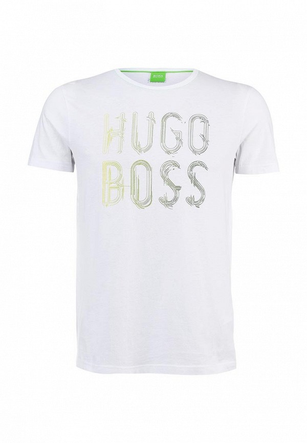 Футболка с надписями Boss Green 50277778: изображение 1