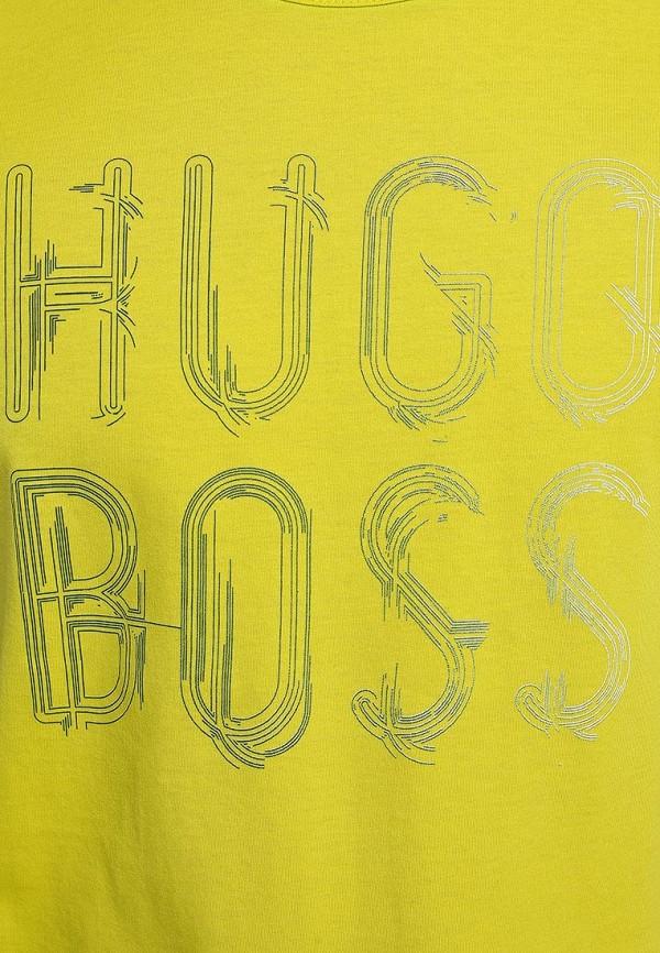 Футболка с надписями Boss Green 50277778: изображение 6