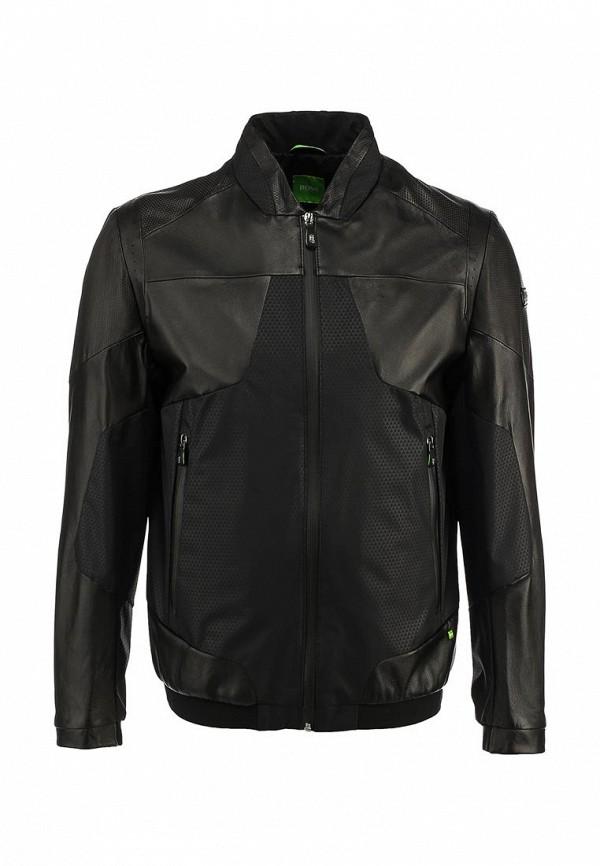 Кожаная куртка Boss Green 50282558: изображение 1