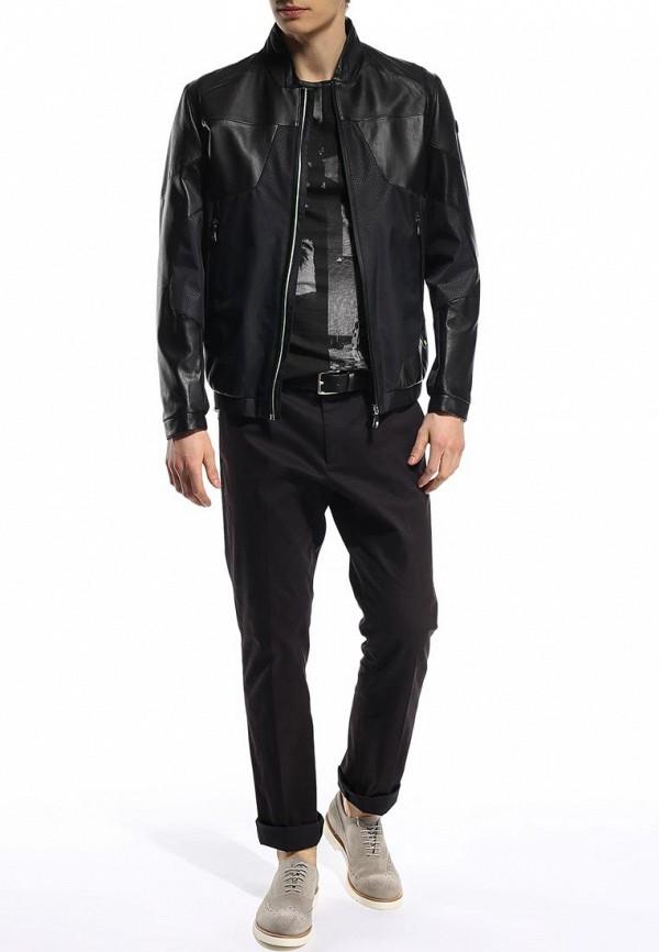 Кожаная куртка Boss Green 50282558: изображение 4
