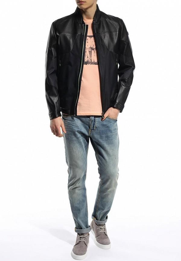 Кожаная куртка Boss Green 50282558: изображение 6