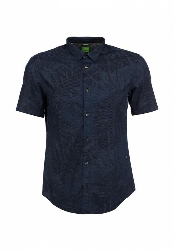 Рубашка с коротким рукавом Boss Green 50282855: изображение 1