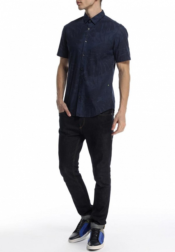Рубашка с коротким рукавом Boss Green 50282855: изображение 3
