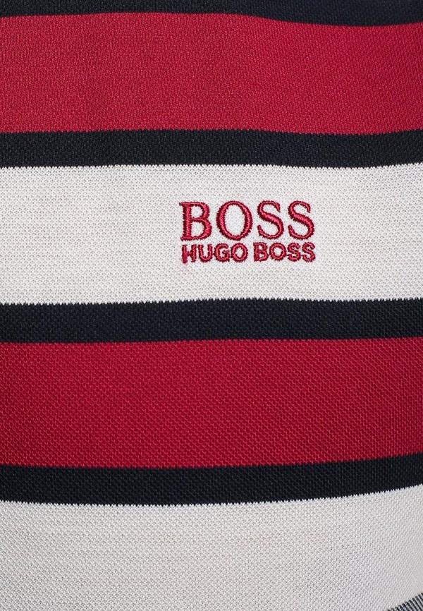 Мужские поло Boss Green 50284634: изображение 7