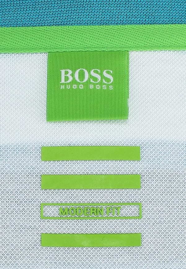 Мужские поло Boss Green 50284634: изображение 4