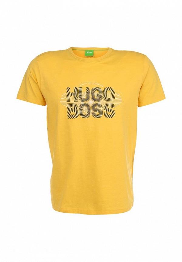 Футболка с надписями Boss Green 50282246: изображение 1