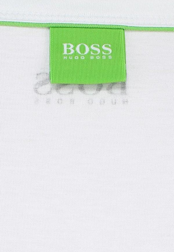 Футболка с надписями Boss Green 50286874: изображение 2