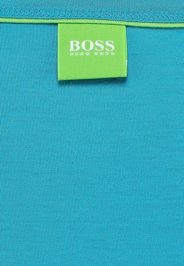 Футболка с надписями Boss Green 50283229: изображение 2