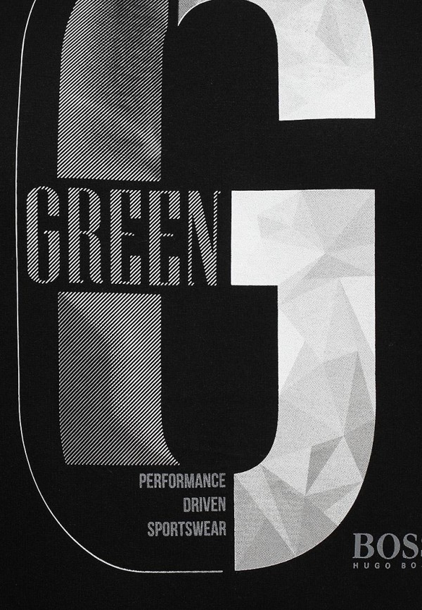 Футболка с надписями Boss Green 50284806: изображение 7