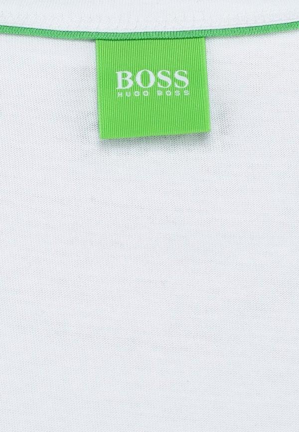 Футболка с надписями Boss Green 50283432: изображение 3