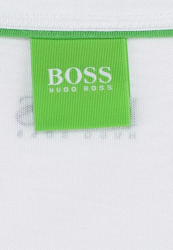 Футболка с надписями Boss Green 50282271: изображение 3