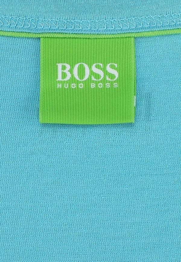 Футболка с надписями Boss Green 50283230: изображение 3