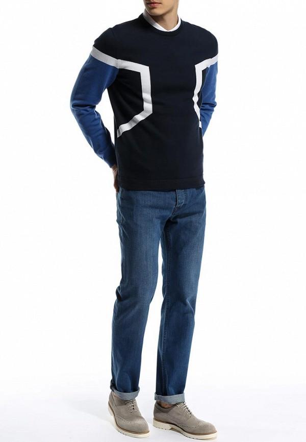 Мужские прямые джинсы Boss Green 50282502: изображение 3