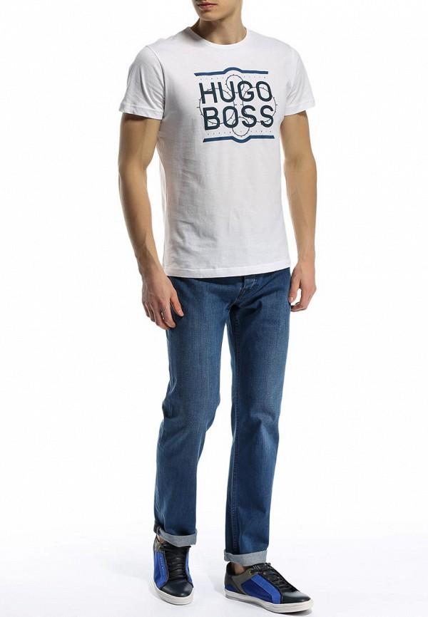 Мужские прямые джинсы Boss Green 50282502: изображение 5