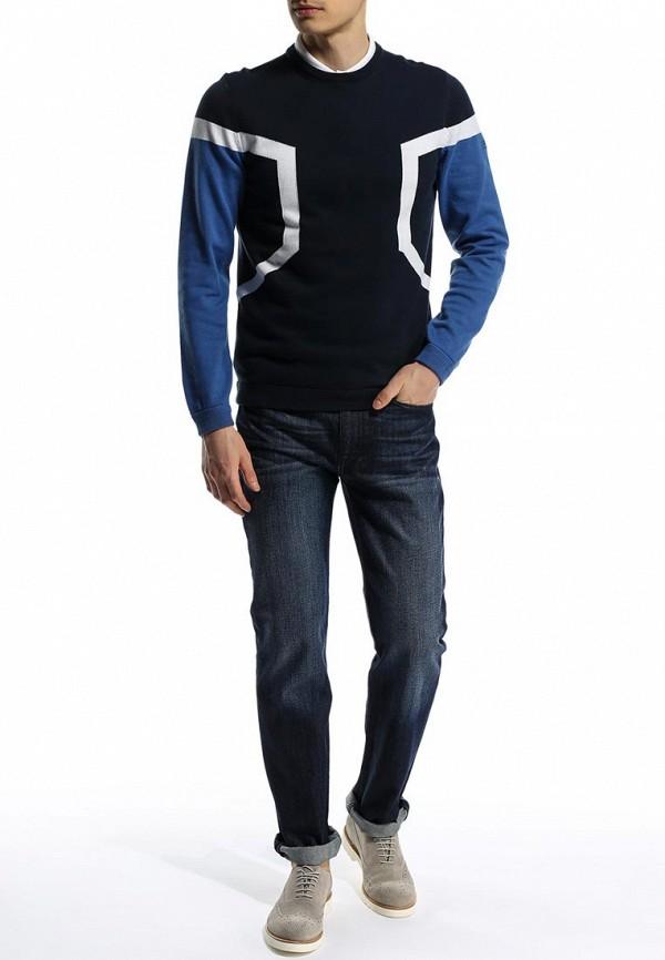 Мужские прямые джинсы Boss Green 50285261: изображение 3
