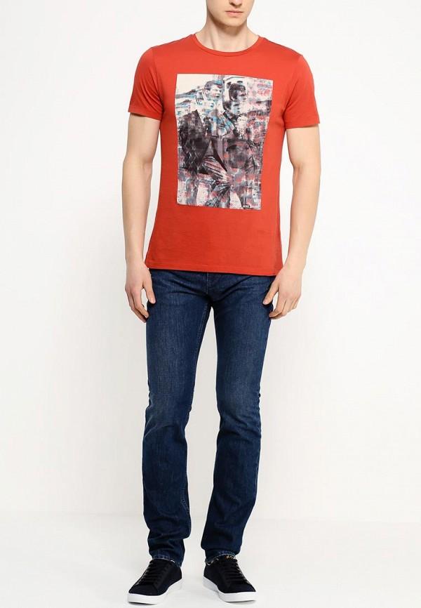 Мужские прямые джинсы Boss Green 50290108: изображение 3