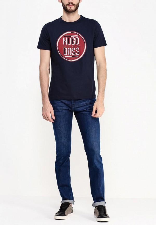 Зауженные джинсы Boss Green 50295534: изображение 3