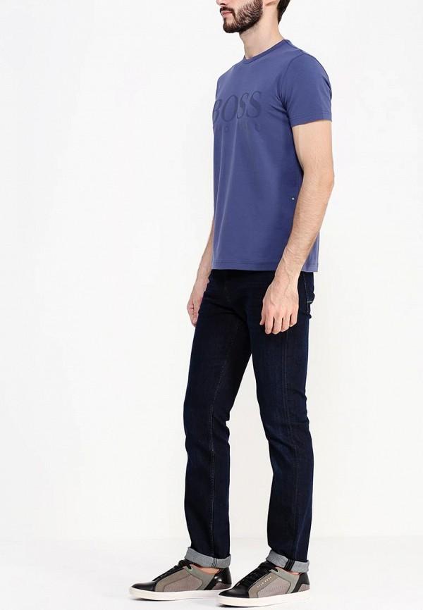Зауженные джинсы Boss Green 50295536: изображение 3