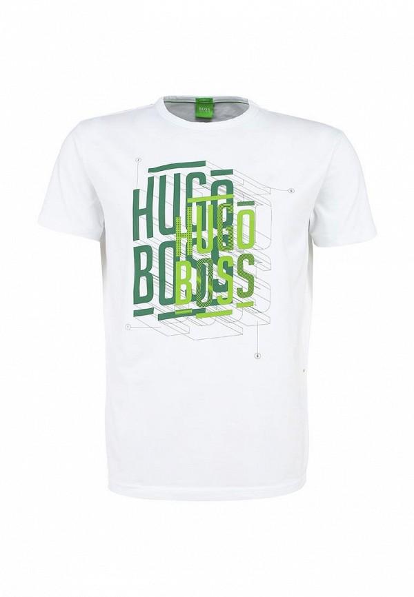 Футболка с надписями Boss Green 50302478: изображение 1