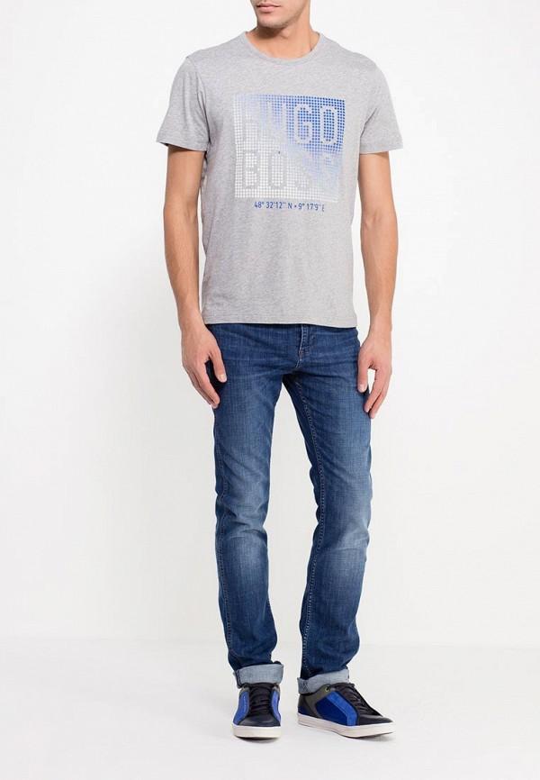 Зауженные джинсы Boss Green 50305988: изображение 2